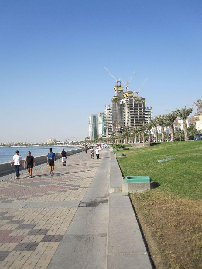 Doha corniche-sodabottle